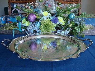 REFLECTION ~ 1847 Rogers Bros Serving Tray    #9281
