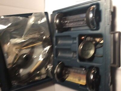 BACHARACH  COMBUSTION TEST KIT FYRITE GAS ANALYZER used parts cheep $100