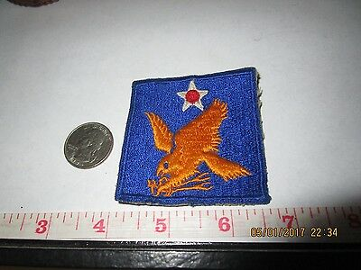 WWII US Army Air Force 2nd Air Corps Uniform Patch World War II USAAF Military
