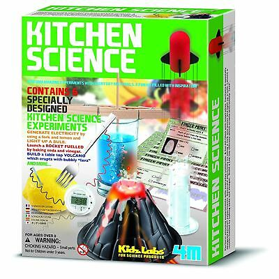 Kitchen Science Kit Kidz Labs Childrens Kitchen Science Experiment Set