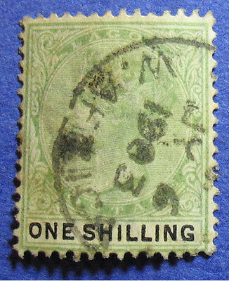 1887 Lagos 1S Scott# 32 S.g.# 38 Used                                    Cs08380