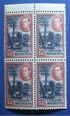 1938 BRITISH HONDURAS $2.00 Scott # 125 S.G. # 160 UNUSED NH             CS03523