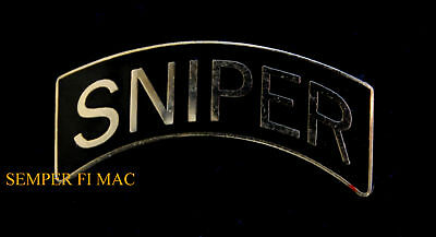 Sniper Hat Lapel Pin Us Army Marines Navy Air Force Uscg Veteran Rifle Gift Wow!