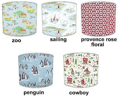 Cath Kidston Lampshades Ideal To Match Cath Kidston Cushions & Covers.