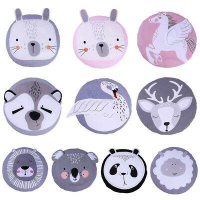 Newborn Baby Large Game Activity Play Mat Soft Cotton Crawling Blanket Floor Rug