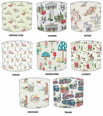 Cath Kidston Designs Lampshades, Ideal To Match Cath Kidston Pillows & Cases.