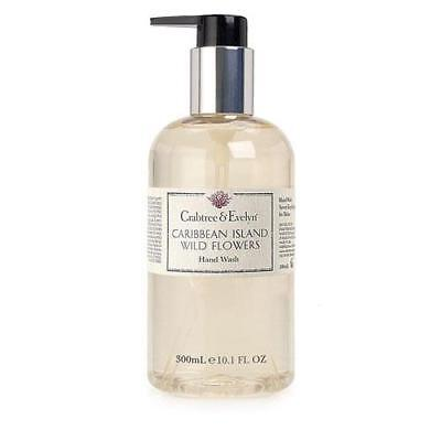 Crabtree & Evelyn Hand Wash 300ml - Caribbean Island Wild Flowers