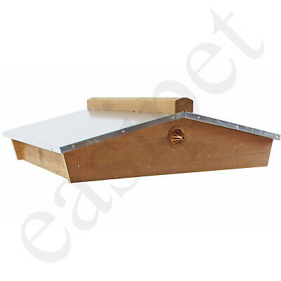 National Beehive Gabled Roof Cedar Beekeeping Bee Hive Easibee