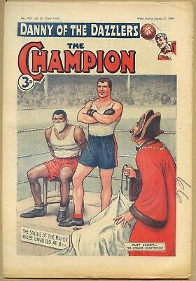 The Champion Comic from 1949. Ruff Storm - The Cyclone Heavyweight