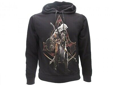 ASSASSIN'S CREED ORIGINS Felpa con Cappuccio BAYEK Originale UFFICIALE Hoodie