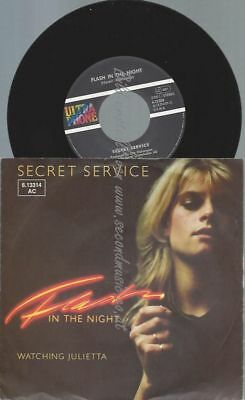"7""   Secret Service ‎– Flash In The Night"