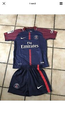 paris saint germain Kinder Fussball Trikot 176 Mbappe Neu