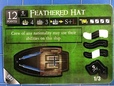 Pirates of the South China Seas - Feathered Hat 032