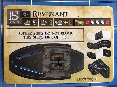 Pirates of the Spanish Main - Revenant PS-001