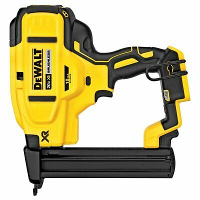 DeWALT DCN681B 20-Volt 18-Gauge MAX XR Cordless Narrow Crown Stapler - Bare Tool