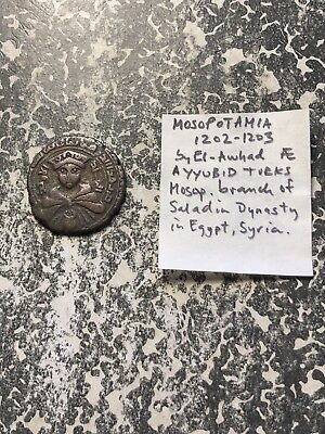 Unidentified Early Islamic Medieval Coin Lot#B143 You ID!