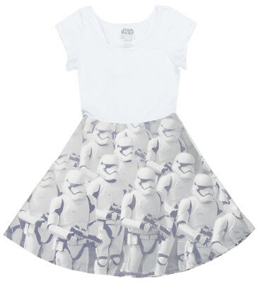 225d9c570d Disney Star Wars Storm Trooper Dress Cosplay Juniors Disneyland Mighty Fine