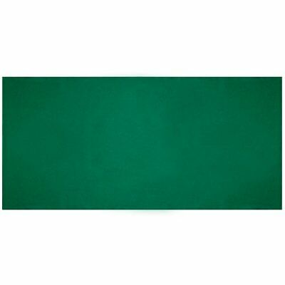 "Plain Green Casino Gaming Table Felt Layout, 36"" x 72"""