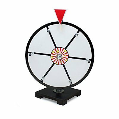 """Midway Monsters 12"""" White Dry Erase Tabletop Prize Wheel for Trade Shows"""