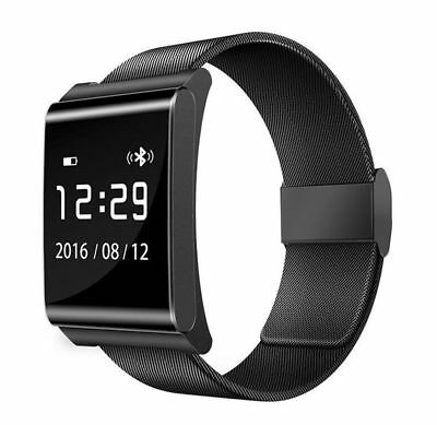 X9 PLUS Bluetooth Smart Sports Bracelet Band Heart Rate Blood Pressure Monitor O