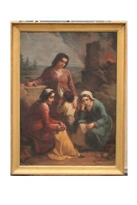 Vincenzo Giacomelli (1841-1890) Oil On Canvas Signed And Dated / Painting Oil