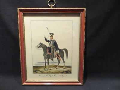 Hussar of The Royal Russian 3rd Regiment Framed Color Print