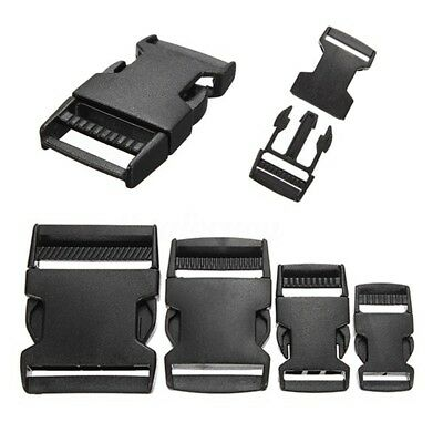 New 2/5/10PCS PLASTIC RELEASE BUCKLES CLIPS FOR WEBBING - 20MM/25MM/40MM/50MM