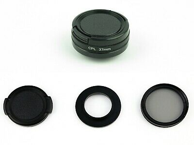 New 37mm CPL Filter with Cap Circular Polarizer Lens Filter for GoPro Hero 3 3+