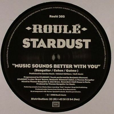 "STARDUST - Music Sounds Better With You - Vinyl (1-sided 12"")"