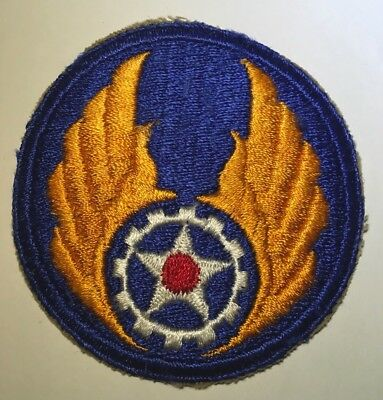 ORIGINAL WWII U.S. ARMY AIR FORCE MATERIAL COMMAND PATCH Cut Edge USAAF WW2