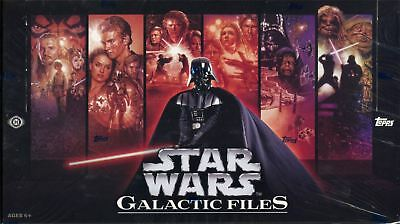 Star Wars Galactic Files Series 1 Factory Sealed Hobby Box