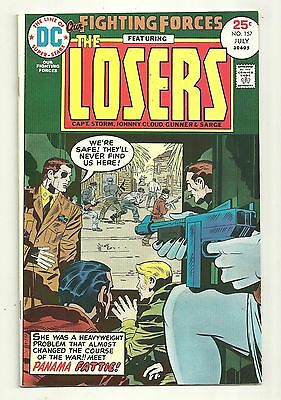 Our Fighting Forces (1954) #157 First Printing DC War Jack Kirby The Losers VF+