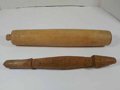 Vintage Mixed Lot Wood Kitchen Tools Rolling Pin Retro Decor Farm Rustic Ranch