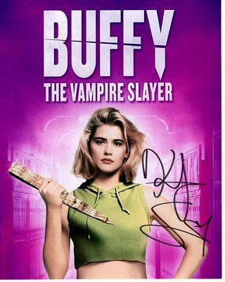 KRISTY SWANSON signed autographed BUFFY THE VAMPIRE SLAYER photo