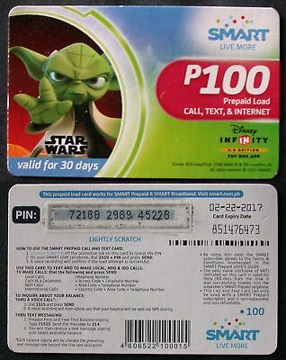 Recharge TELEPHONE STAR WARS   SMART PHILIPPINES