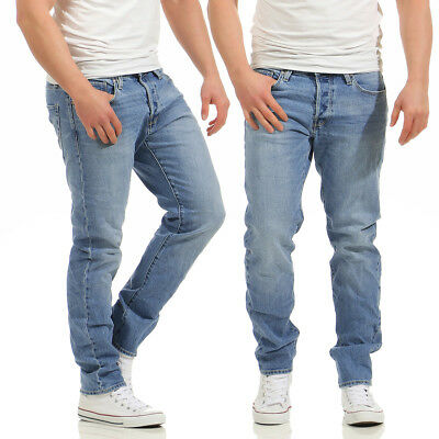 JACK & JONES - MIKE ORIGINAL CR002 - Comfort Fit - Herren Blau Jeans Hose
