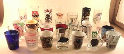 FLORIDA SHOT GLASS Collection Busch Gardens Universal HHN + MANY TO CHOOSE FROM
