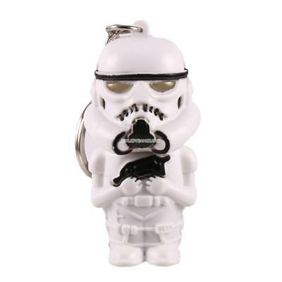 Mini Solider Shape Keychain Keyring Bag Charm Gift Toy with LED Light EN24H 01