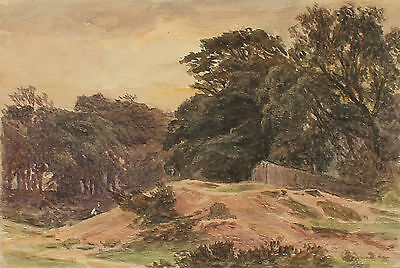 Frederick George Reynolds 1828-1921 Watercolour Hampstead