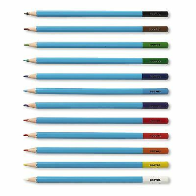 Reeves Set Of 12 Watercolour Pencils Artist Sketching Drawing Art Craft