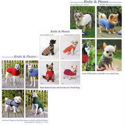 Dog knitted Coats Sweaters Knitting Pattern Knits & Pieces