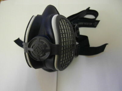 Elipse Spr501 Gvs P3 Dust Half Mask Respirator Filters Ready Fitted Medium/large
