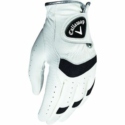 Callaway 2018 X Junior Leather Golf  Glove Left Hand Pack Of 1