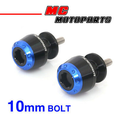 ATOM Blue CNC Swingarm Spools Sliders For Kawasaki VERSYS 650 2008-2014 08 09