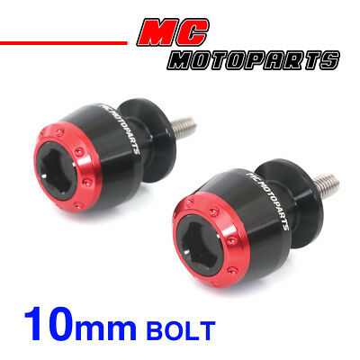 ATOM Red CNC Swingarm Spools Sliders For Kawasaki VERSYS 650 2008-2014 08 09