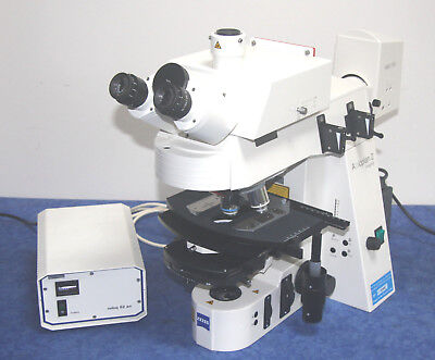 Zeiss Axioplan 2ie MOT Imaging Transmitted / Reflected Fluorescence Microscope