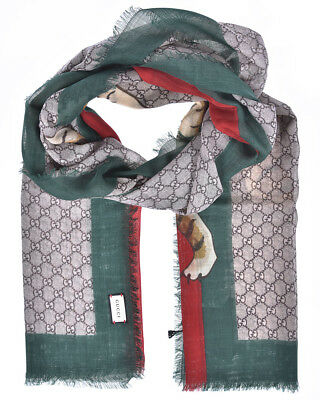 b4490017c78b Gucci Scarf Scarves Foulard % MADE IN ITALY Woman Green 4955114G200-3174