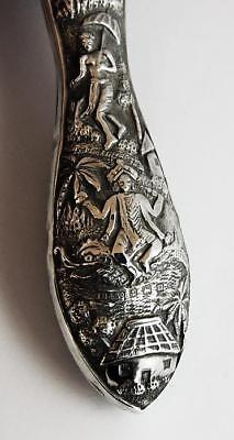 INDIAN STYLE SILVER SHOE HORN Birmingham 1911