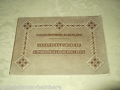 DMC Library - Hardanger Embroideries 1st edition Stitches Learn How