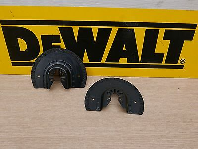 2 X Unpackaged Dewalt Dt20717 Carbide Grout Removal Blades For Multi Tool